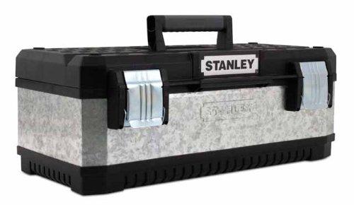 Stanley - Galvanised Metal Toolbox 23In
