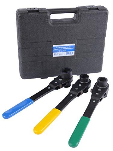 Reed Tool 02930  LVDSSET Value Line Thru-Bolt Dual Socket Ratchet Wrench Set