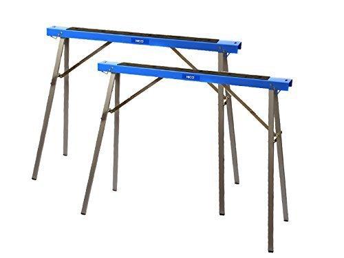 HICO wholesale Folding Metal SawhorseSawhorse Brackets 2-Pack