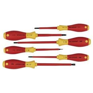 Wiha Tools 35891 Ins Screwdriver Set SlotPhllpsSq 6 Pc