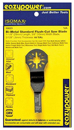 Eazy Power 50623 Oscillating Bi-Metal Flush Cut Saw blade
