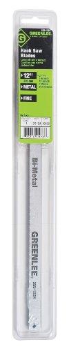 Greenlee 333-1224 Bi-Metal Hacksaw Blade 12-Inch 24-TPI 5-Pack