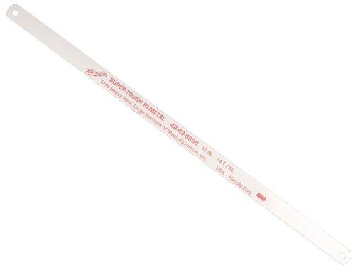 Milwaukee 48-43-0600 12-Inch 14 Teeth per Inch Bi-Metal Hacksaw Blades 10-Pack
