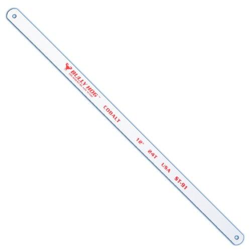 Stone Tools ST-91 12-Inch TPI 24 Bi-Metal Hacksaw Blades 10 Pack