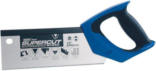 Draper 49281 Expert Supercut250Mm10 Soft Grip Hardpoint Tenon Saw- 11Tpi12Ppi