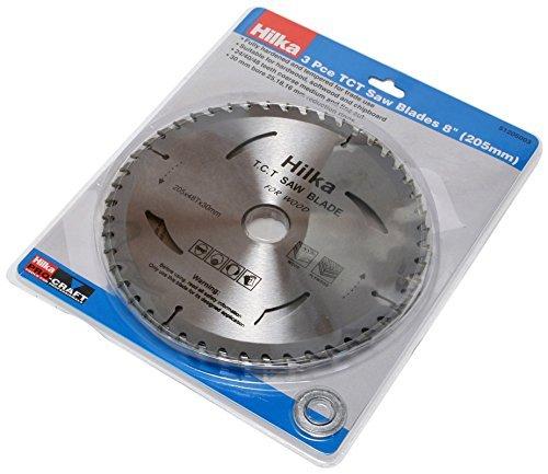 Hilka 51205003 8-Inch Pro Craft TCT Saw Blades by Hilka