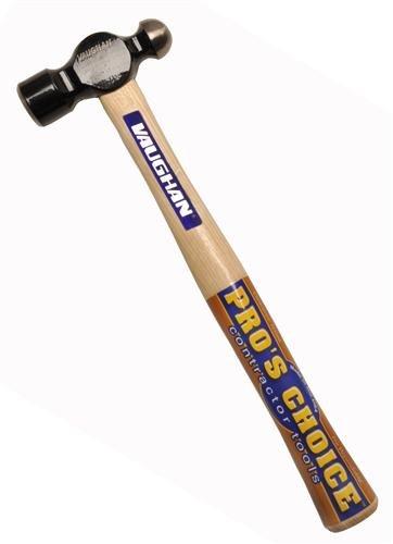 Vaughan 150-30 TC702 Hickory Handle Ball Pein Hammer 2-Ounce Head