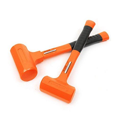 2P No elastic shock rubber hammer installation hammer Woodworking hardware tools