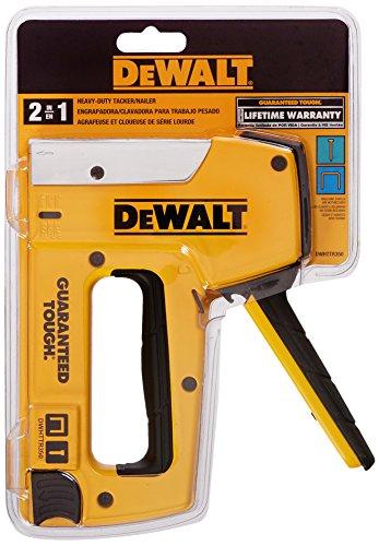 DEWALT DWHTTR350 Dewalt Heavy-Duty Aluminum StaplerBrad Nailer
