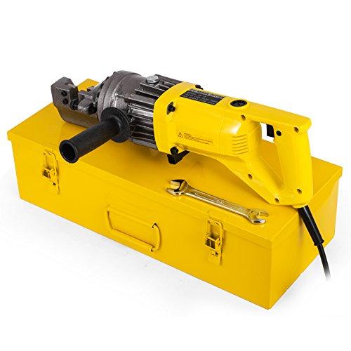 Happybuy 900W Electric Rebar Cutter 58Inch Hydraulic Rebar Cutter 110 V 16mm 25-3 Seconds Cut-Off Speed