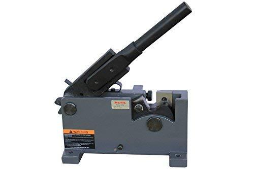 KAKA Industrial MS-28 28mm Metal Manual Shears Solid Construction and Versatility Rebar Rod Steel Cutter Flat Bar Steel Round Metal Cutter