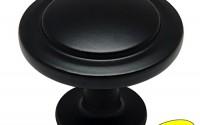 Cosmas-5560FB-Flat-Black-Cabinet-Hardware-Round-Knob-1-1-4-Diameter-25-Pack-16.jpg