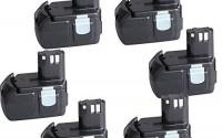 "6-Packs-CREJOYâ""¢-18-Volt-Lithium-Ion-4000mAh-HXP-Battery-for-Hitachi-BCL1815-EBM1830-29.jpg"