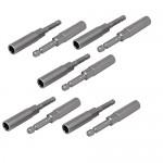 OKSLO-U-nique-83mm-Length-7mm-Hex-Shank-8mm-Hexagonal-Deep-Socket-Nut-Driver-Bit-Gray-10pcs-22.jpg